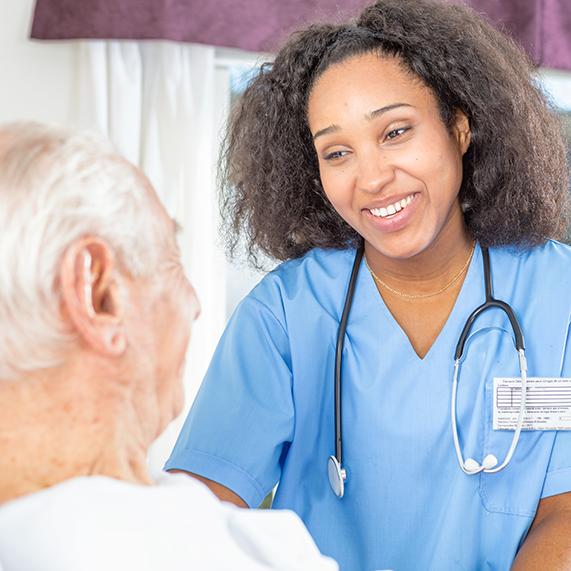 Logibec-readmission-black-nurse-patient